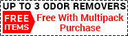 FREE ODOR REMOVER ITEMS